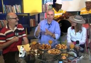 Confira a participação do professor Ari Riboldi no quadro Botequim do Maurício, direto da Feira do Livro de Porto Alegre, no Globo Esporte, da RBS TV. Feira do Livro de 2014.